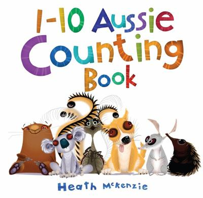 1-10 Aussie Counting Book (Board)