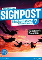 Australian Signpost Mathematics New South Wales 7 Homework Program (NZ Year 8)