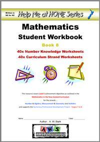 Help Me at Home Student Workbook 8