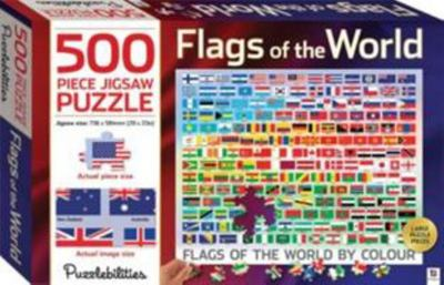 Flags of the World: 500-piece Jigsaw Puzzle (933721) Puzzlebilities