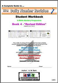 Daily Number Revision: Maths Student Workbook 4