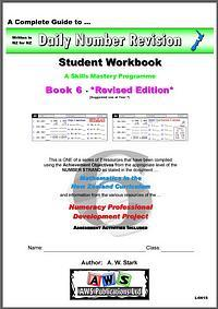 Daily Number Revision: Maths Student Workbook 6