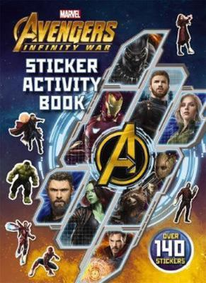 Avengers Infinity War: Sticker Activity