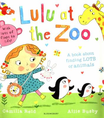 Lulu at the Zoo (Lift the Flaps)