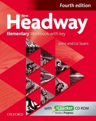 New Headway 4 ed Elementary Workbook with key