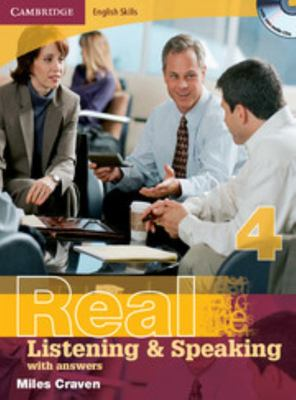 Cambridge English Skills Real Listening and Speaking Level 4 with Answers and Audio CDs