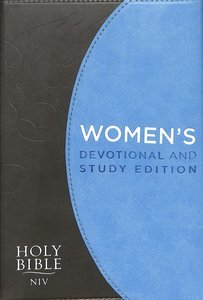 NIV Women's Devotional Study Blue