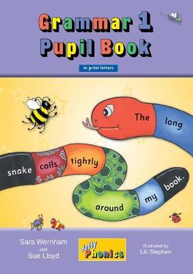 Jolly Phonics Grammar 1 Pupil Book Print Letters Ages 5+ - MTA