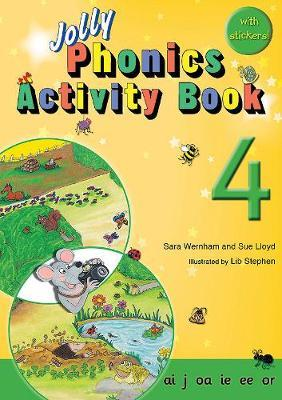 Jolly Phonics Activity Book 4
