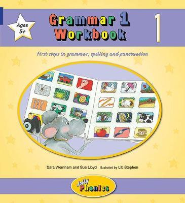 Grammar 1 Workbook 1 - In Precursive Letters (BE)