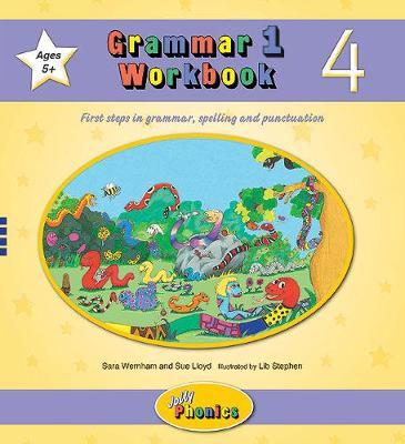 Grammar 1 Workbook 4 - In Precursive Letters (BE)