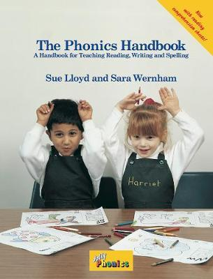 The Jolly Phonics Handbook (in precursive letters)