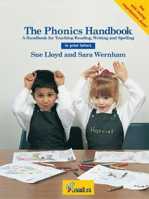 The Jolly Phonics Handbook (in print letters)