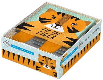 Tip Toe Tiger (Wee Gallery) Cloth Book