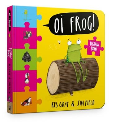 Oi Frog! Jigsaw Puzzle Book