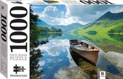 Boat On Lake Buttermere, England: 1000-Piece Jigsaw Puzzle Mindbogglers