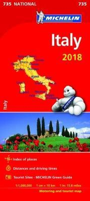 Italy 2018 National Map 735