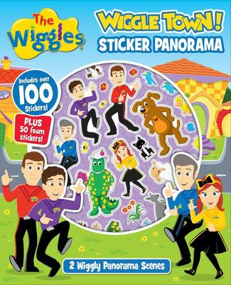 The Wiggles: Wiggle Town Sticker Panorama Book