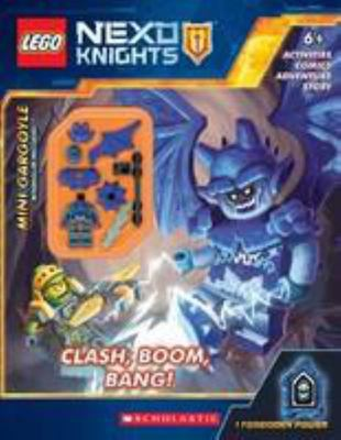 Clash, Boom, Bang! (Lego Nexo Knights + Minifigure)