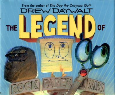 The Legend of Rock, Paper, Scissors (Stories about growing up Book 1)