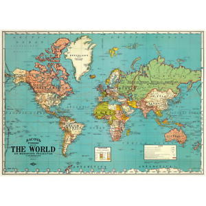 Wrap - World Map