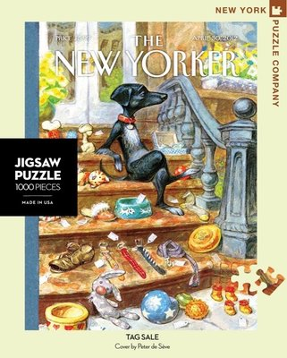 Tag Sale: 1000-Piece Jigsaw Puzzle New Yorker
