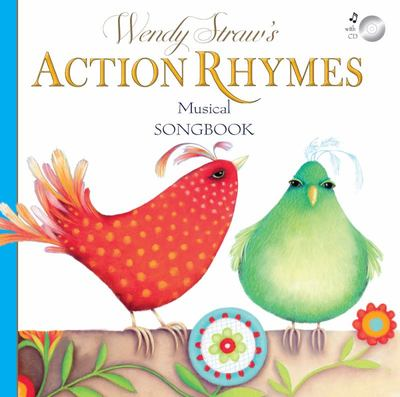Wendy Straw's Action Rhymes (PB & CD)