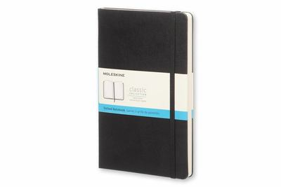 Classic Dot Grid Black Large Notebook Moleskine