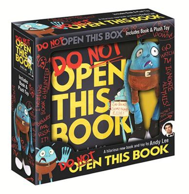 Do Not Open This Book (& Plush)