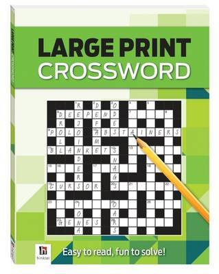 Large Print Crossword - Green
