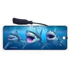 Great White Sharks 3D Bookmark