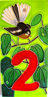 Number '2' fantail