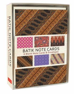 "Batik Design Notecards[""6 Elegant Notecards and Envelopes""]"