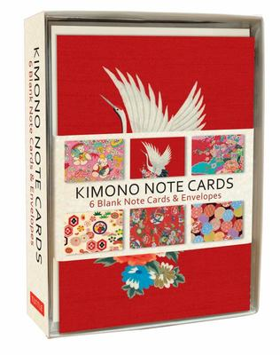 Kimono Designs (6 Elegant Notecards and Envelopes)