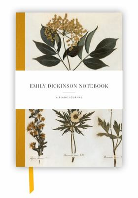 Emily Dickinson Notebook: a blank journal inspired by the poet's writings and gardens