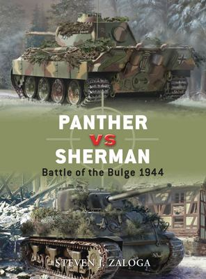 panther vz sherman: battle of the dulge 1944