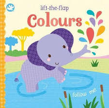 Little Me - Colours Lift-the-Flap Book