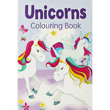 Unicorns Colouring Book (#2)