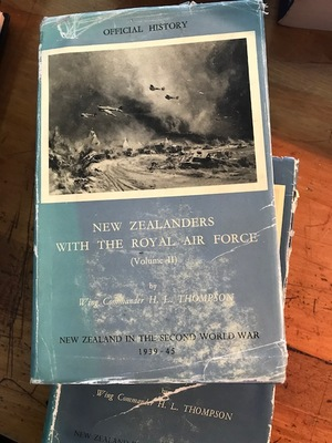 New Zealanders with the Royal Air Force Vols II