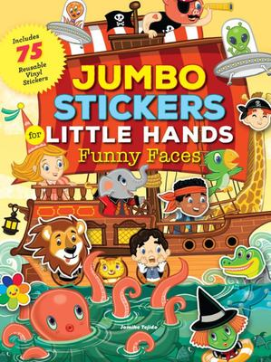 Funny Faces (Jumbo Stickers for Little Hands)
