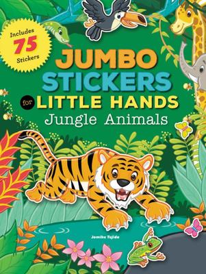 Jungle Animals (Jumbo Stickers for Little Hands)
