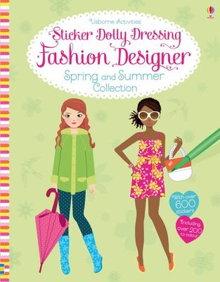 Fashion Designer: Spring and Summer Collection (Sticker Dolly Dressing)