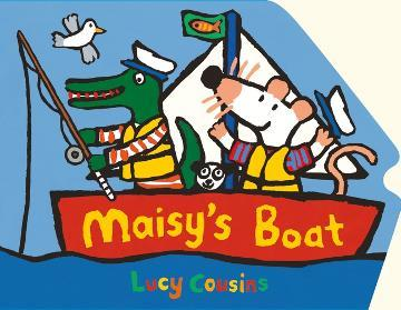 Maisy's Boat (Shaped Board)