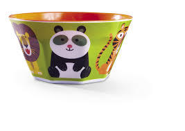 Melamine Bowl - Jungle Jamboree