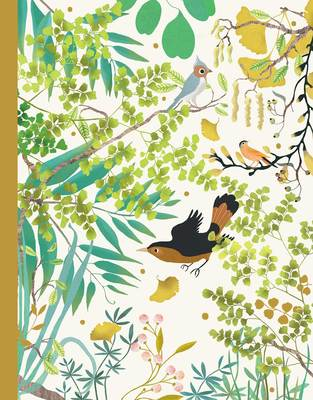 Tinou Notebook: Birds in the Trees