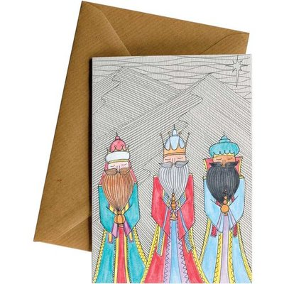 Card LD Christmas Three Wise Men