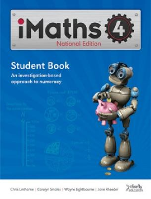 iMaths 4 Student Book National Edition - Firefly