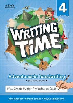 Writing Time 4 NSW Foundation Style Practice Book - Firefly