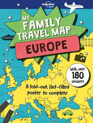 Europe (Lonely Planet Kids: My Family Travel Map)