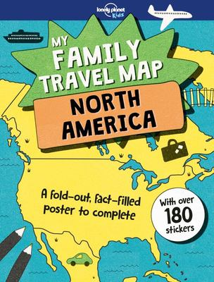 North America (My Family Travel Map)
